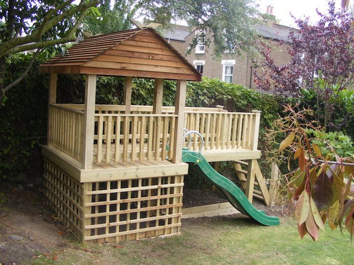 garden structures that can be used for an extra office or shed or tree house